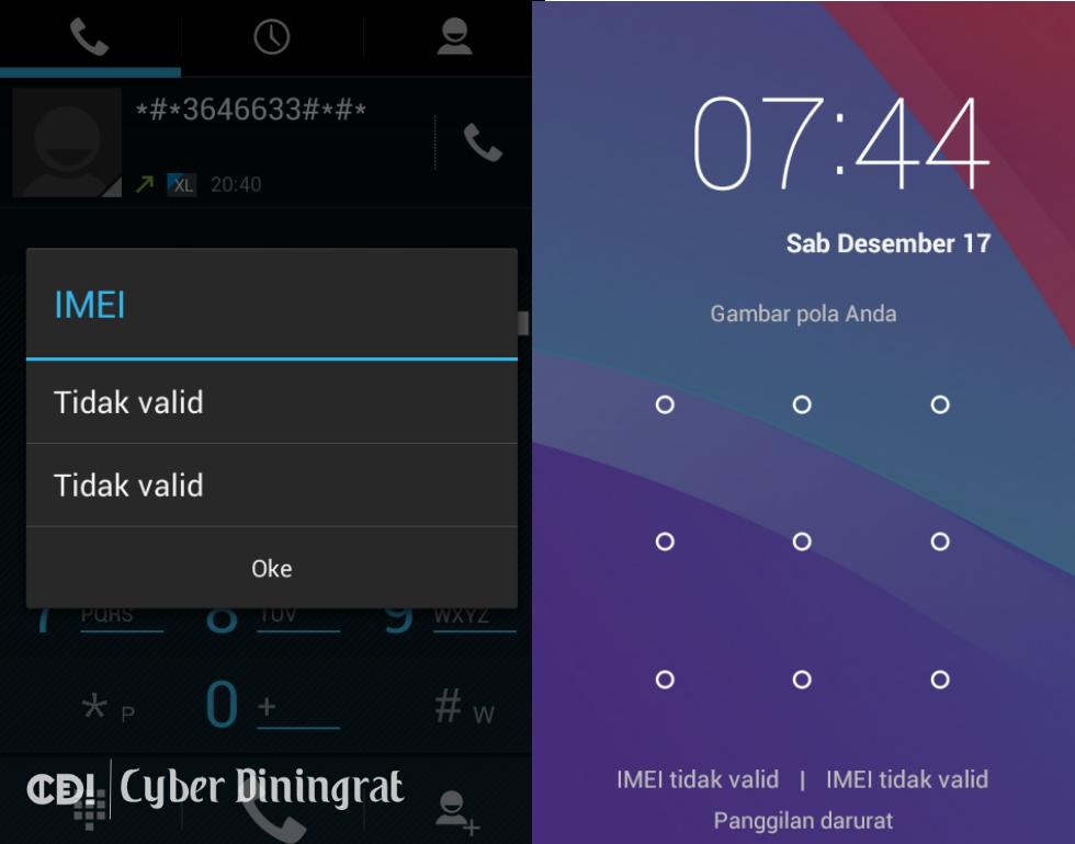 Image of Cara Mudah Mengatasi IMEI Tidak Valid (Invalid) Di Android Dengan Chamelephon